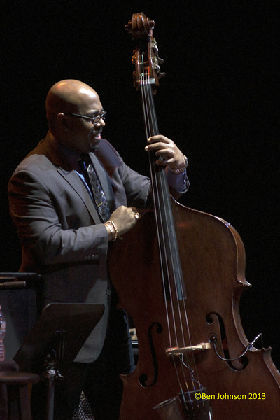 Christian McBride with The Monterey Jazz  Festival 55th Anniversary Tour at The Merriam Theater in Philadelphia, PA on February 2, 2013 featuring Christian McBride-Bass, Benny Green-Piano, Lewis Nash-Drums, Chris Potter-Saxophone,  Ambrose Akinmusire-Trumpet and Dee Dee Bridgewater-vocals