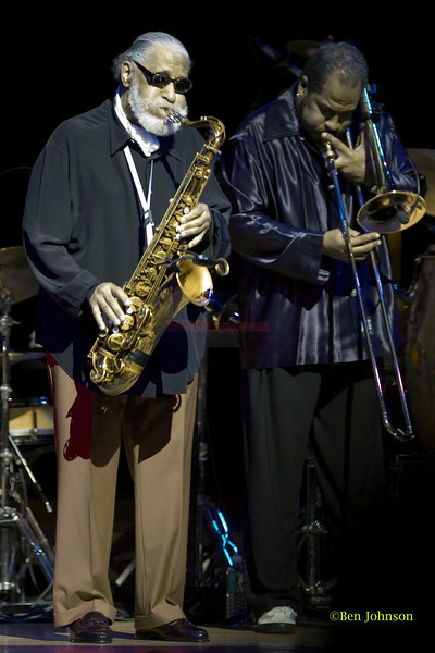 Sonny Rollins Sextet performing at The Kimmel Center, Philadelphia,PA December 1, 2006