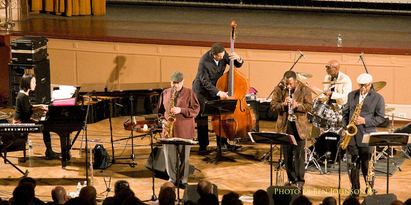 The T.S. Monk Quintet - Helen Sung - Piano, Bob Porcelli - Sax, Dave Jackson - Bass, James Gibbs - Trumpet, Willie Williams - Sax and T.S. Monk - Drums - Performing at The Gershman Theater in Philadelphia, PA on February 13, 2009