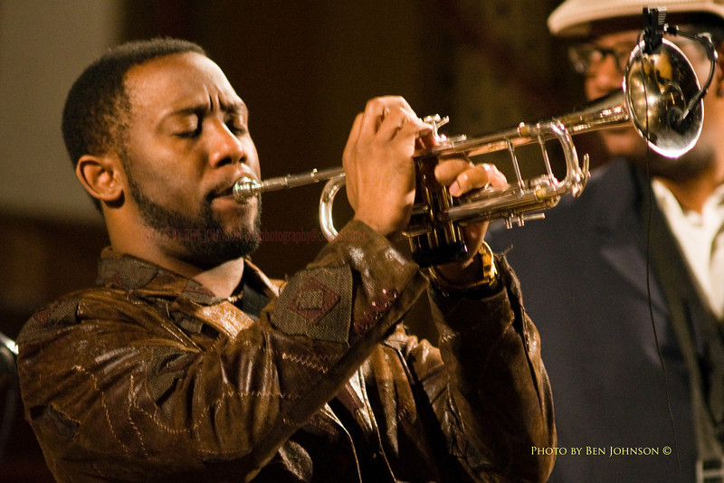James Gibbs - Performing with The T.S  Monk Quintet at the Levitt Auditorium, in The Gershman Theater, in Philadelphia, PA, February 13, 2009