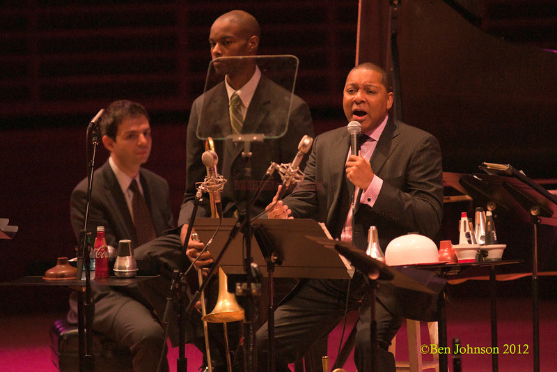 The Wynton Marsalis Quintet photo performing at The Kimmel Center in Philadelphia April 3, 2012