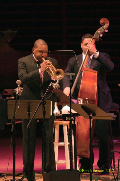The Wynton Marsalis Quintet photo performing at The Kimmel Center in Philadelphia April 3, 2012