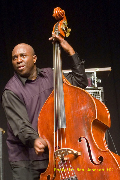 Charnett Moffett Photo - performing as a part of a Tribute to McCoy Tyner May 20 and 21, 2006, Temple University