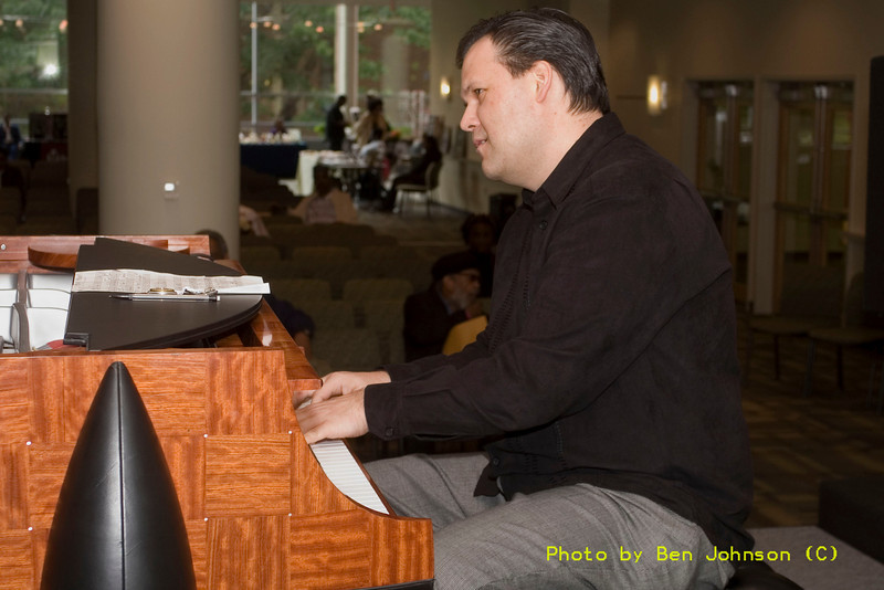 Tom Lawton Photo - performing as a part of a Tribute to McCoy Tyner May 20 and 21, 2006, Temple University