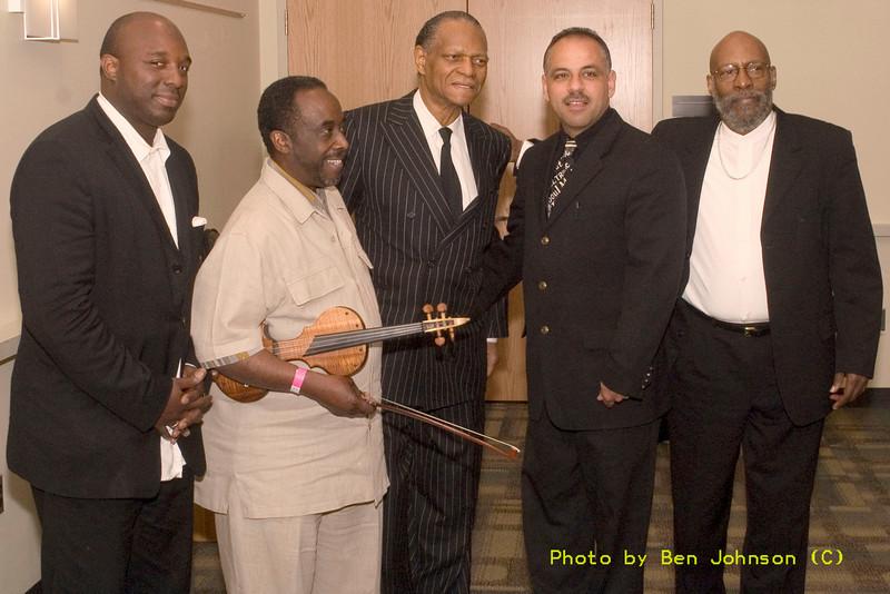 Charnette Moffett,John Blake, McCoy Tyner, Marlon Simon and Eric Gravatt - A Tribute to McCoy Tyner May 20 and 21, 2006, Temple University, Philadelphia, PA