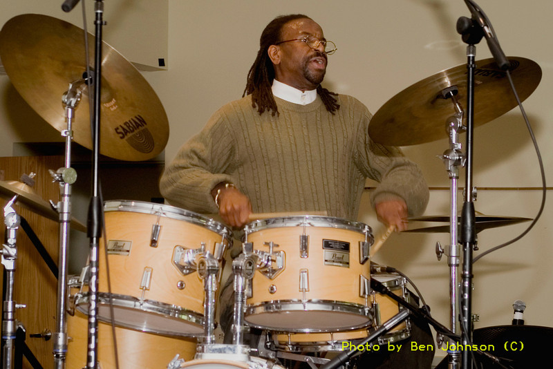 Wilby Fletcher Jr. Photo - performing as a part of a Tribute to McCoy Tyner May 20 and 21, 2006, Temple University, PA