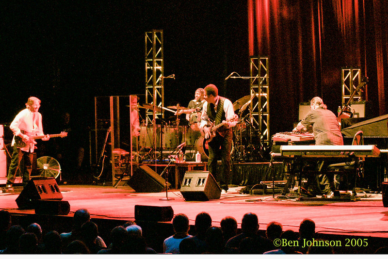 Bella Fleck & The Flecktones and Return To Forever appearing at The Mann Center For The Performing Arts in Philadelphia PA on August 5, 2008