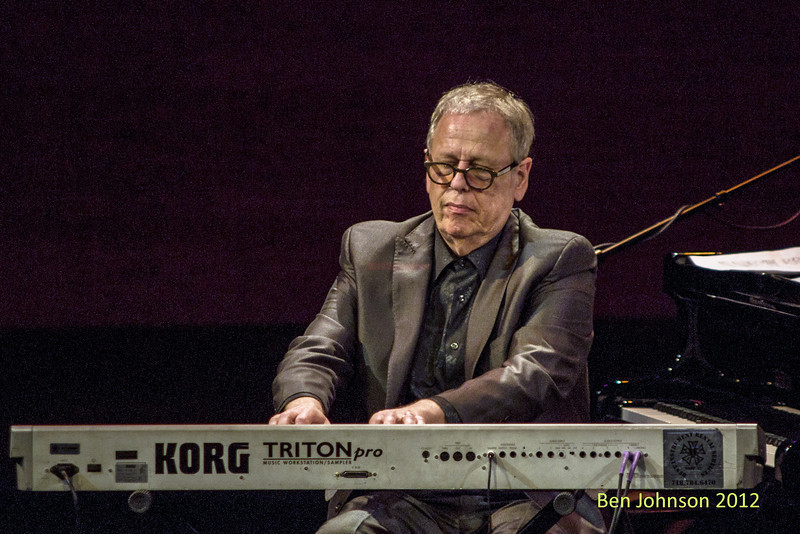 Kenny Werner with A tribute to Toots Thielemans in Rose Theater in Jazz At Lincoln Center on September 28, 2012