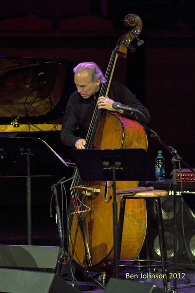 Marc Johnson with A tribute to Toots Thielemans in Rose Theater in Jazz At Lincoln Center on September 28, 2012