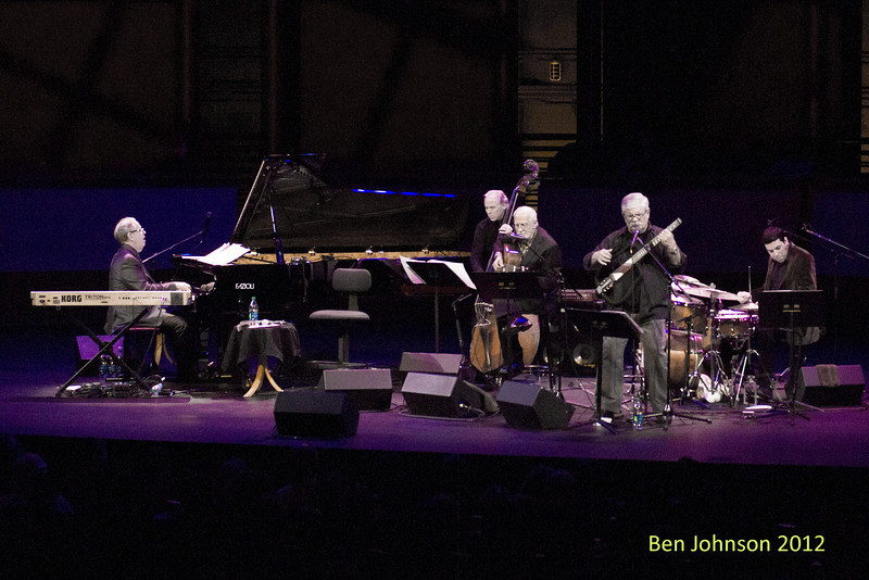 A tribute to Toots Thielemans in Rose Theater in Jazz At Lincoln Center on September 28, 2012 Kenny Werner Piano, Marc Johnson - Bass, Rafael Barata - Drums,  Oscar Castro-Neves - Guitar, Dori Caymni - Guitar and Vocals