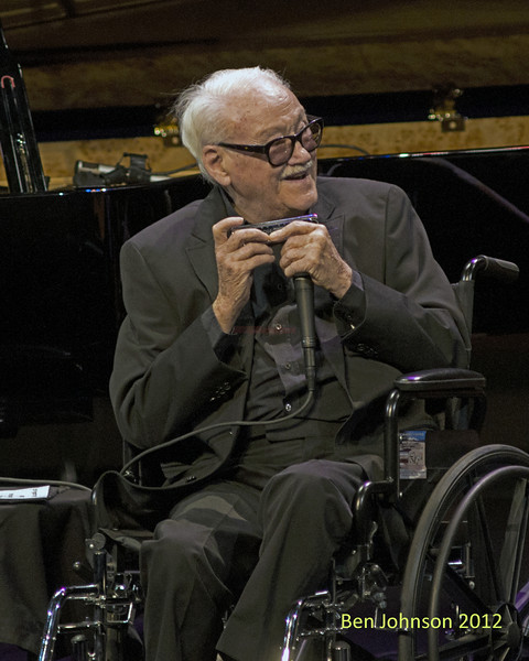 A tribute to Toots Thielemans in Rose Theater in Jazz At Lincoln Center on September 28, 2012