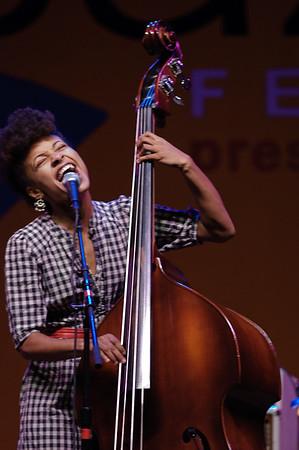 Esperanza Spalding - 2009 Monterey Jazz Festival