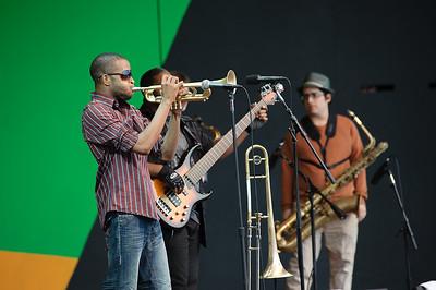 Trombone Shorty - 53rd Monterey Jazz Festival