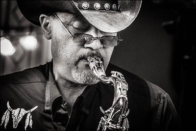 "Sax player for Jo ""Cool"" Davis"