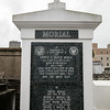 "the tomb of former New Orleans Mayor Ernest ""Dutch"" Morial in Lafayette Cemetery #1; CEO in New Orleans on April 30, 2016"