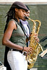 Lakecia Benjamin & Lawrence Clark - The 2008 Charlie Parker Jazz Festival, August 23-24, held in Marcus Garvey Park, and Tomkins Square Park