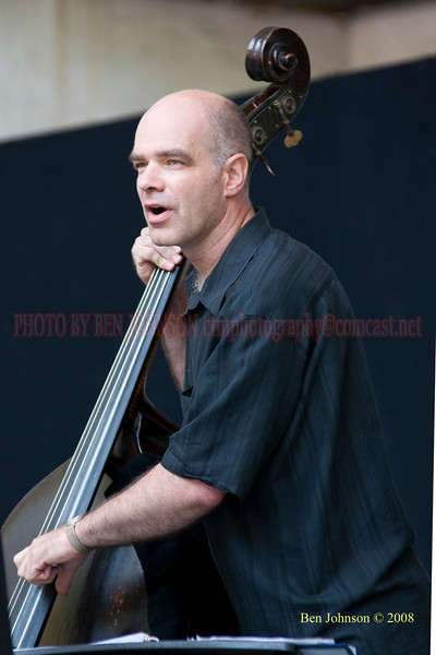 Joris Teepe - The 2008 Charlie Parker Jazz Festival, August 23-24, held in Marcus Garvey Park, and Tomkins Square Park
