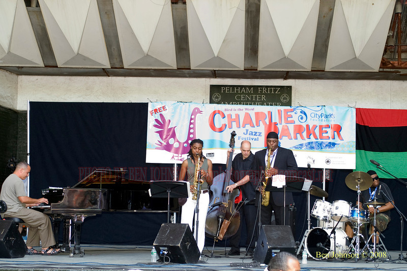 The Rashied Ali Quintet - <br /> The 2008 Charlie Parker Jazz Festival, August 23-24, held in Marcus Garvey Park, and Tomkins Square Park