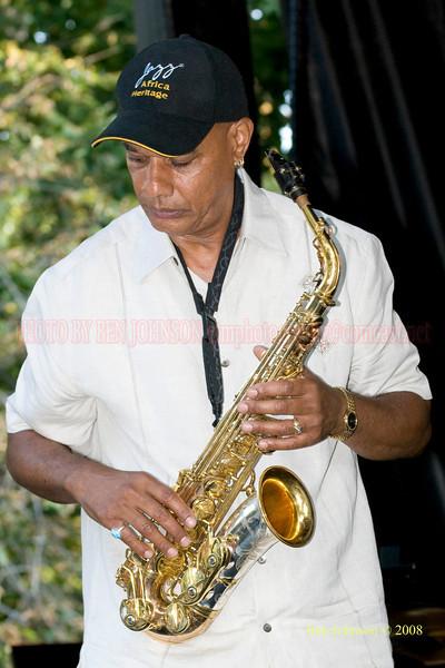 T.K. Blue - The 2008 Charlie Parker Jazz Festival, August 23-24, held in Marcus Garvey Park, and Tomkins Square Park