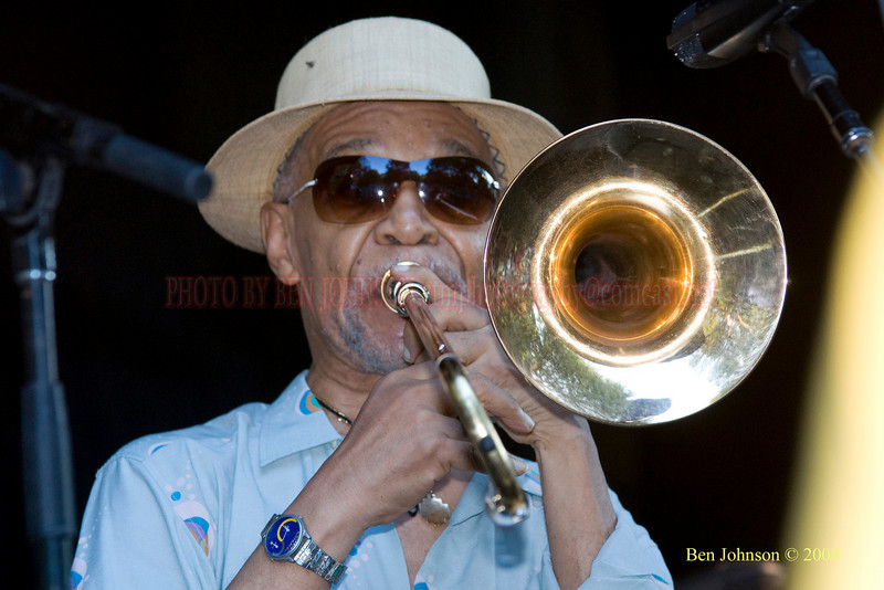 Benny Powell - The 2008 Charlie Parker Jazz Festival, August 23-24, held in Marcus Garvey Park, and Tomkins Square Park