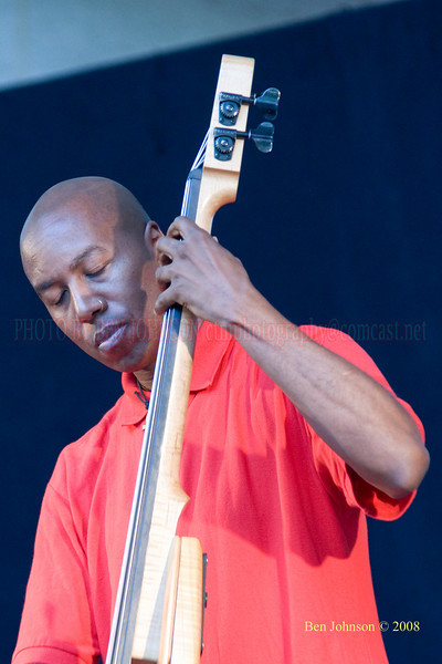 Lonnie Plaxico - The 2008 Charlie Parker Jazz Festival, August 23-24, held in Marcus Garvey Park, and Tomkins Square Park