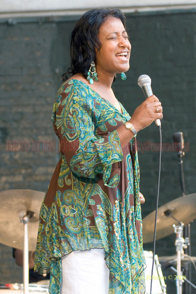 Vanessa Rubin - The 2008 Charlie Parker Jazz Festival, August 23-24, held in Marcus Garvey Park, and Tomkins Square Park