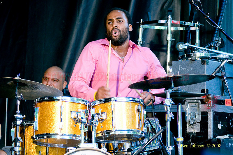 John Davis - The 2008 Charlie Parker Jazz Festival, August 23-24, held in Marcus Garvey Park, and Tomkins Square Park