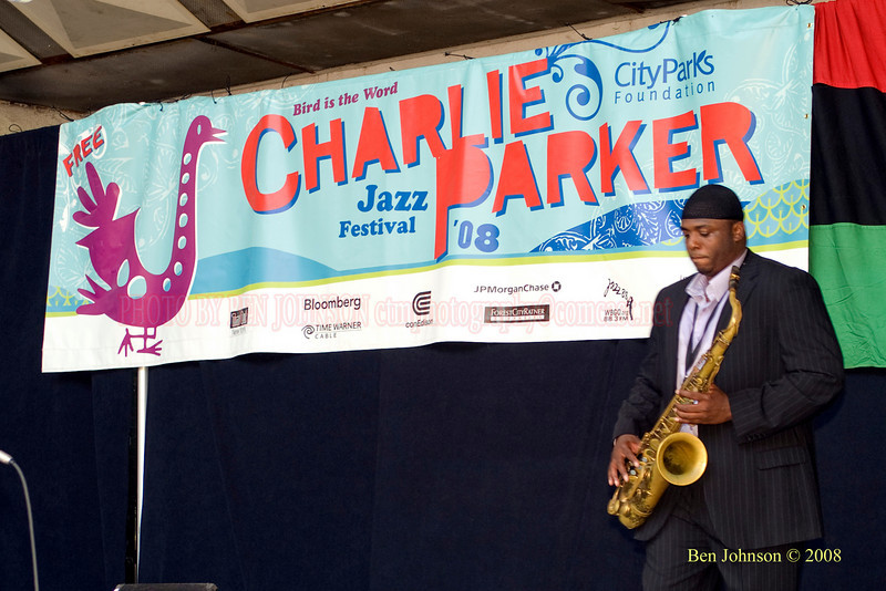 Lawrence Clark - The 2008 Charlie Parker Jazz Festival, August 23-24, held in Marcus Garvey Park, and Tomkins Square Park