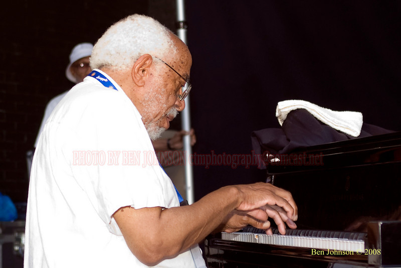 Barry Harris - The 2008 Charlie Parker Jazz Festival, August 23-24, held in Marcus Garvey Park, and Tomkins Square Park