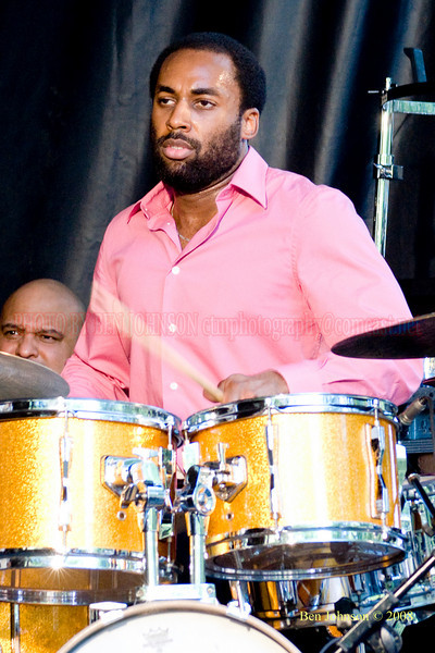 John Davis - The 2008 Charlie Parker Jazz Festival, August 23-24, held in Marcus Garvey Park, and Tomkins Square Park