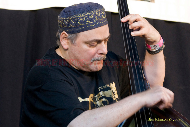 Andy Gonzalez - The 2008 Charlie Parker Jazz Festival, August 23-24, held in Marcus Garvey Park, and Tomkins Square Park