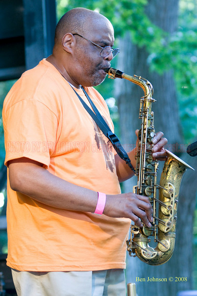 Joe Ford - The 2008 Charlie Parker Jazz Festival, August 23-24, held in Marcus Garvey Park, and Tomkins Square Park