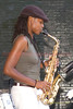 lakecia Benjamin - <br /> The 2008 Charlie Parker Jazz Festival, August 23-24, held in Marcus Garvey Park, and Tomkins Square Park
