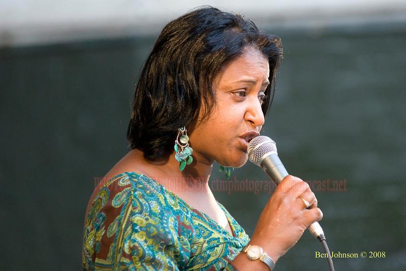 Vanessa Rubin - The 2008 Charlie Parker Jazz Festival, August 23-24, held in Marcus Garvey Park, and Tomkins Square Park
