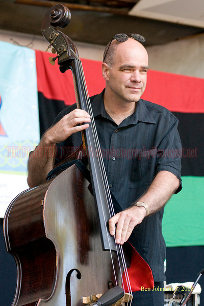Joris Teepe - The 2008 Charlie Parker Jazz Festival, August 23-24, held in Marcus Garvey Park, and Tomkins Square Park