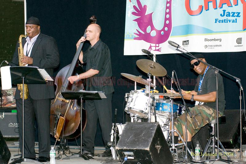 The Rashied Ali Quartet - The 2008 Charlie Parker Jazz Festival, August 23-24, held in Marcus Garvey Park, and Tomkins Square Park