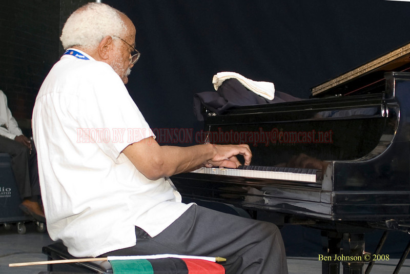 The 2008 Charlie Parker Jazz Festival, August 23-24, held in Marcus Garvey Park, and Tomkins Square Park