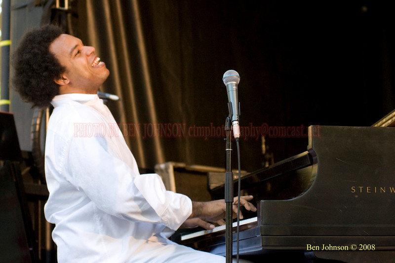 Eric Lewis - The 2008 Charlie Parker Jazz Festival, August 23-24, held in Marcus Garvey Park, and Tomkins Square Park