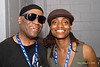 Rashied Ali & Lakecia Benjamin<br /> The 2008 Charlie Parker Jazz Festival, August 23-24, held in Marcus Garvey Park, and Tomkins Square Park