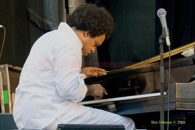 Eric Lewis -The 2008 Charlie Parker Jazz Festival, August 23-24, held in Marcus Garvey Park, and Tomkins Square Park