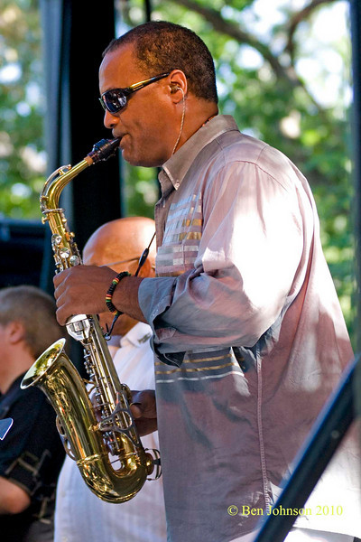 Craig Handy Photo - The 2010 Charlie Parker Jazz Festival held in Tompkins Square Park Featuring Vijay Iyer, The Cookers and Catherine Russell
