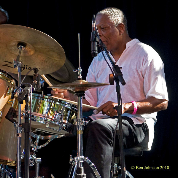 Billy Hart photo - The 2010 Charlie Parker Jazz Festival held in Tompkins Square Park Featuring Vijay Iyer, The Cookers and Catherine Russell
