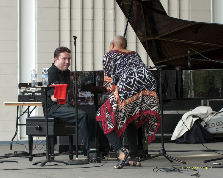 Rene Marie - perfoming at The 2012 Charlie Parker Festival at Marcus Garvey Park, New York City, August 25, 2012