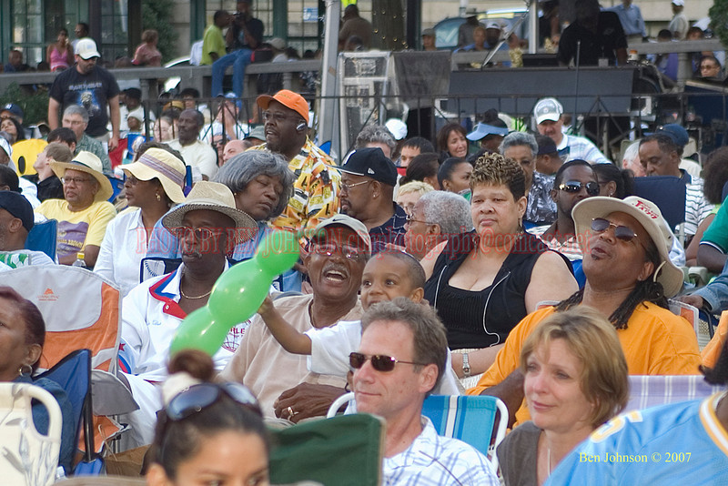 The Crowd - 2007 Clifford Brown Jazz Festival in Wilmington, Delaware