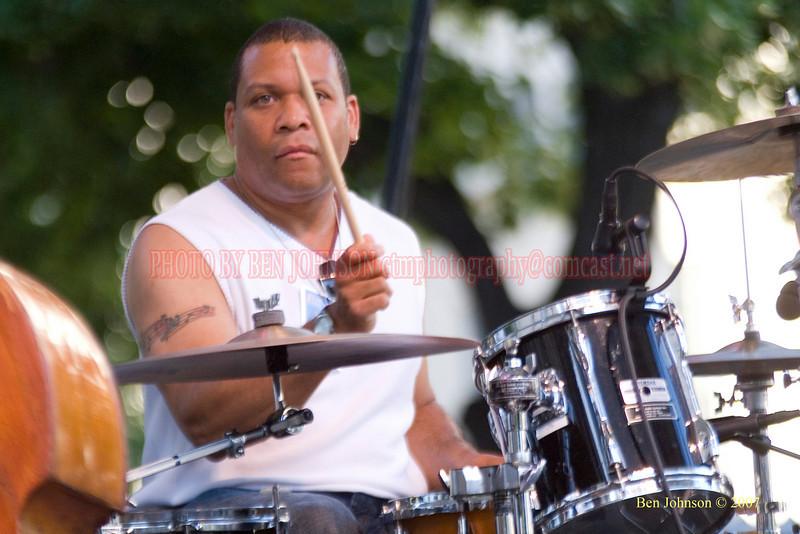 Leon Jordan, Jr. - 2007 Clifford Brown Jazz Festival in Wilmington, Delaware
