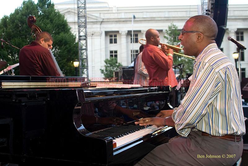 Xavier Davis - 2007 Clifford Brown Jazz Festival in Wilmington, Delaware