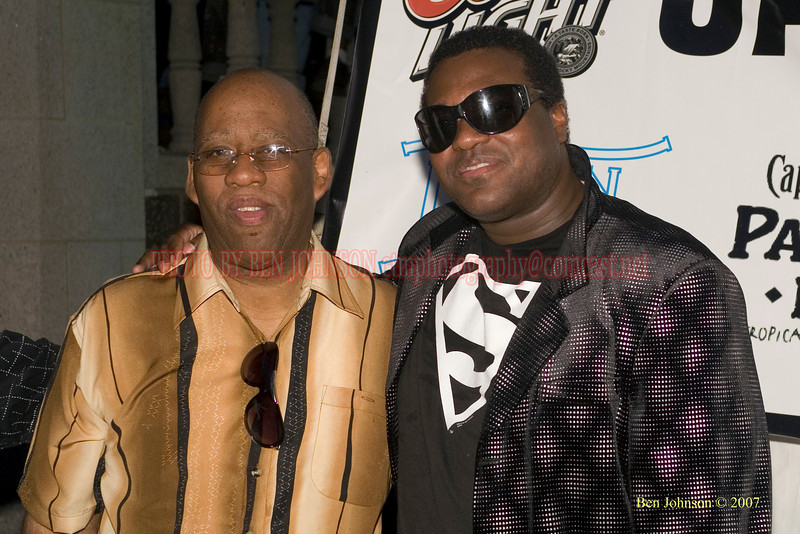Charles Fambrough and Wallace Roney - 2007 Clifford Brown Jazz Festival in Wilmington, Delaware