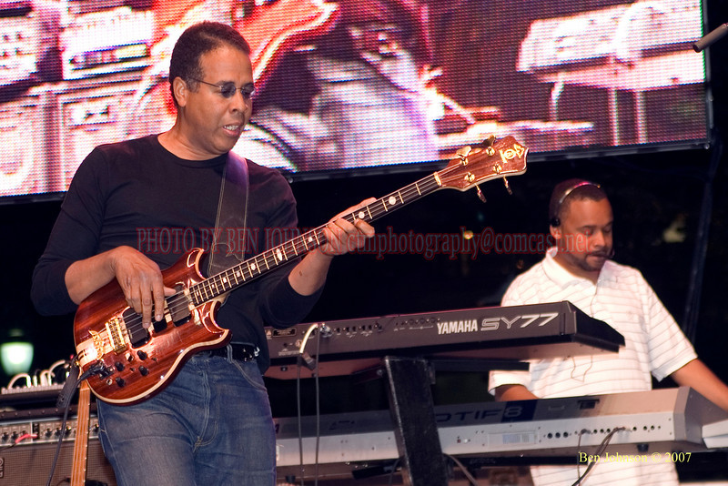 Stanley Clarke - 2007 Clifford Brown Jazz Festival in Wilmington, Delaware