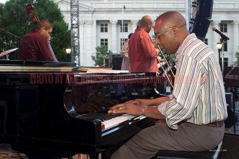 Xavier Davis - <br /> 2007 Clifford Brown Jazz Festival in Wilmington, Delaware