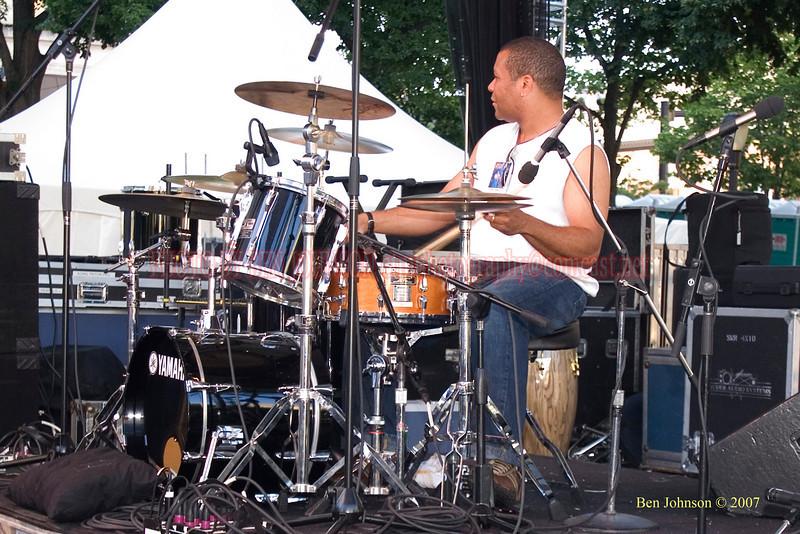Leon Jordan, Sr. - 2007 Clifford Brown Jazz Festival in Wilmington, Delaware